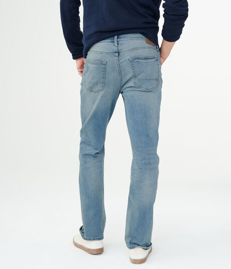 Slim Bootcut Light Wash Stretch Jean***
