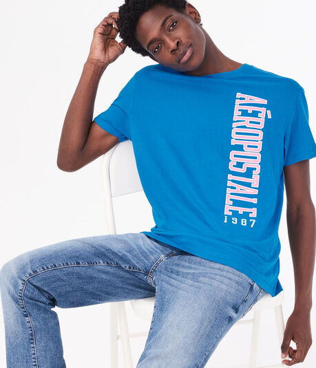 Vertical Aeropostale Graphic Tee