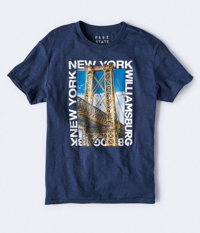 Free State Brooklyn Bridge Graphic Tee