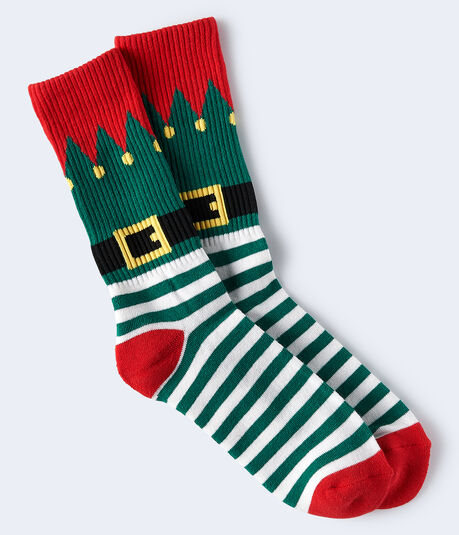 Elf Crew Socks