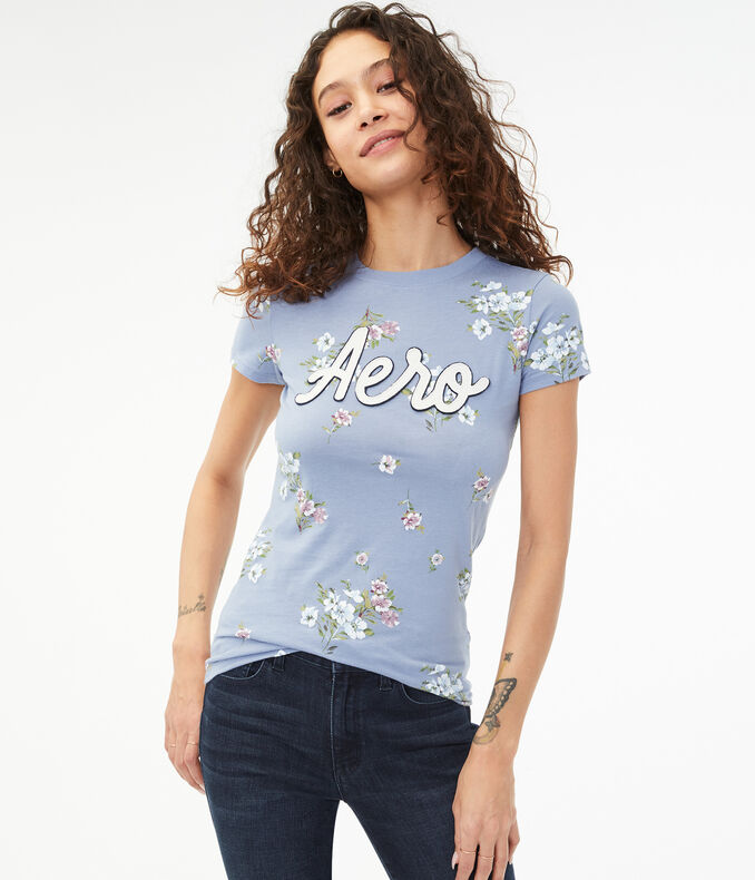 Floral Fields Logo Graphic Tee