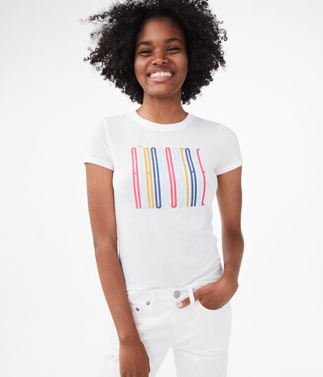 Colorful Aeropostale Graphic Tee