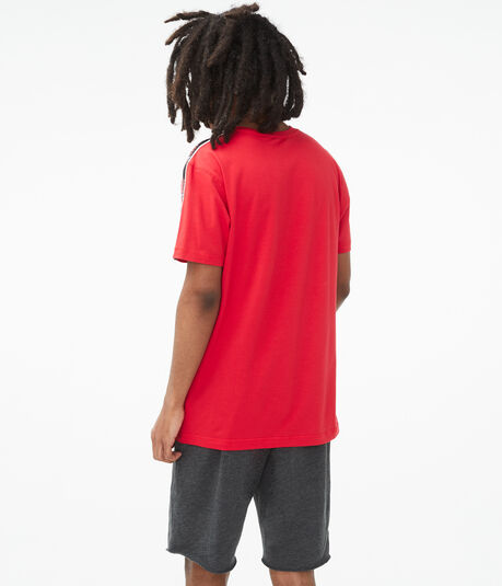 Aero87 Stripe Stretch Graphic Tee