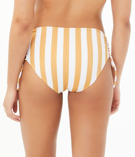 Striped Cinched Hipster Bottom