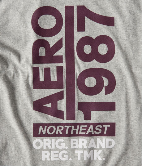 Aero 1987 Vertical Graphic Tee