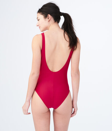 LLD Solid One-Piece Swimsuit