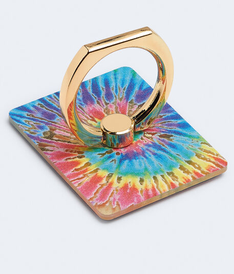 Tie-Dye Smartphone Ring Stand