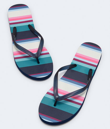 f23cebc9e3e781 Striped Flip-Flop    ...