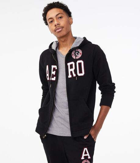 Aero Patch Full-Zip Hoodie
