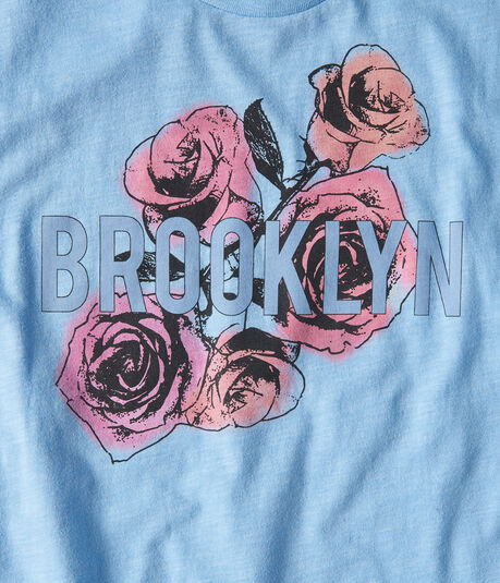 Brooklyn Roses Graphic Tee