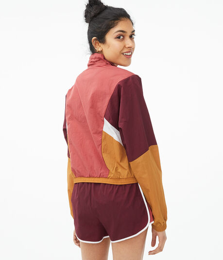 Colorblocked Windbreaker Jacket