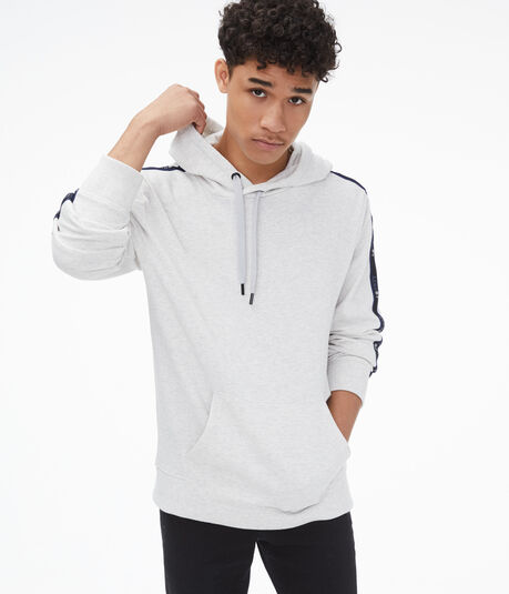Retro Sport Taped Pullover Hoodie