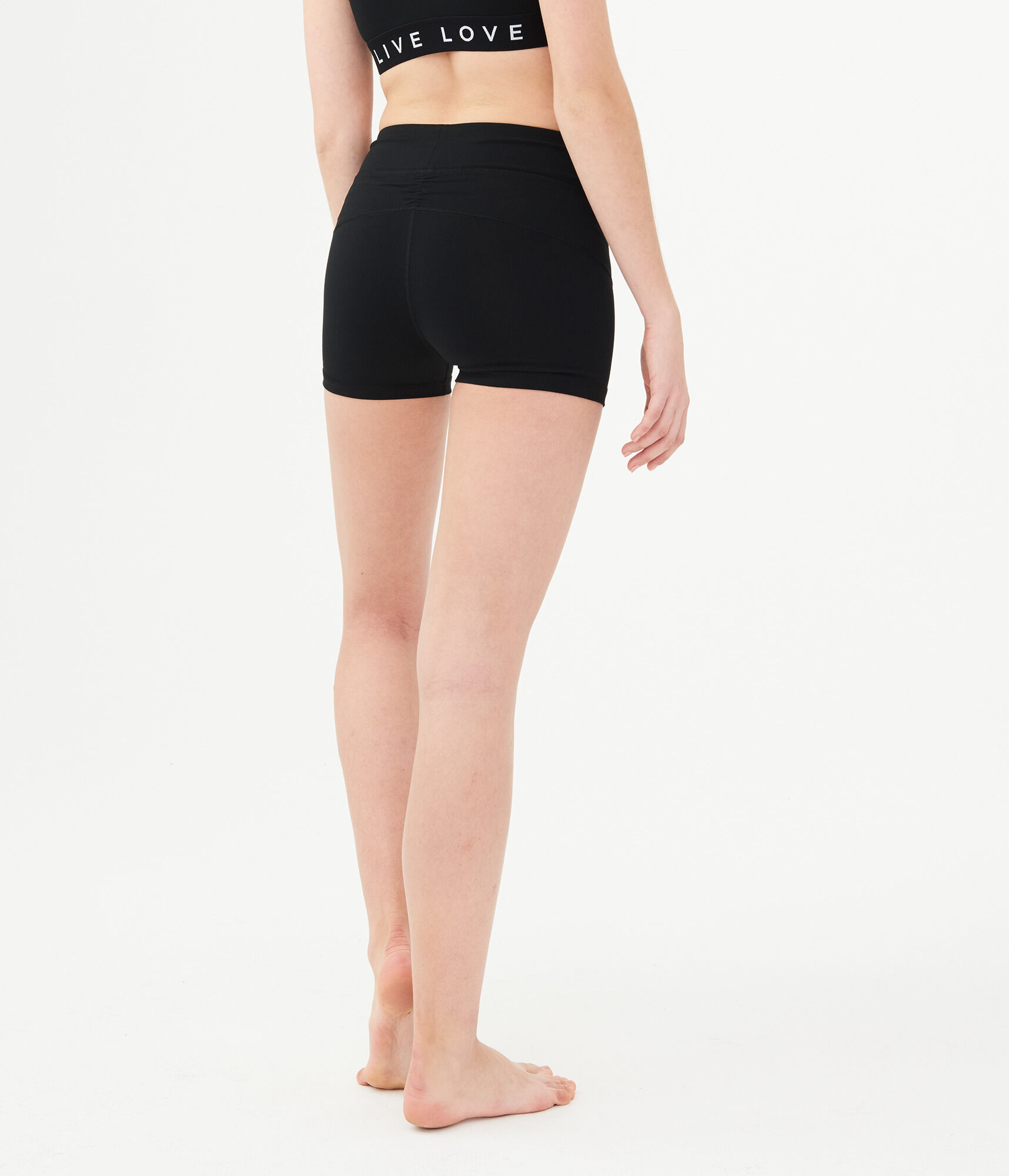 Womens Black Volleyball Shorts  Aeropostale-8386