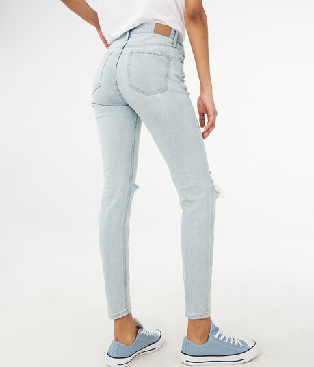 High-Waisted Cheeky Ankle Jegging
