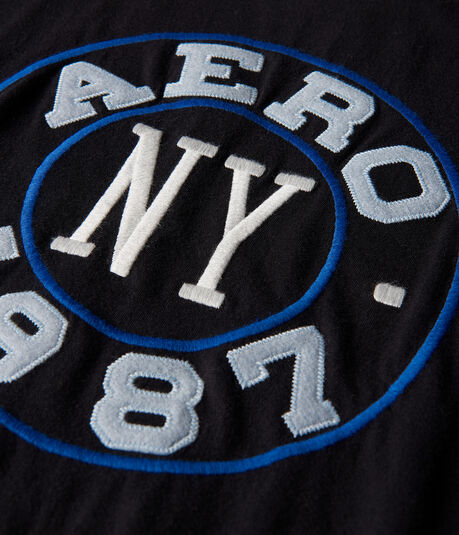 Aero NY 1987 Circle Graphic Tee