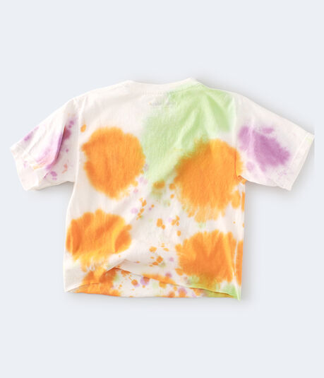 Rugrats Tie-Dye Cropped Graphic Tee