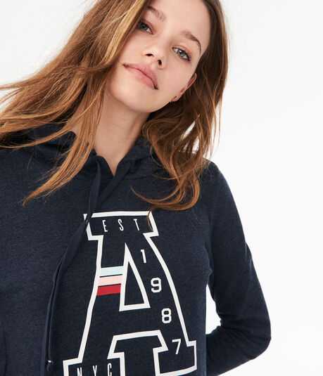 """A"" Logo Pullover Hoodie***"