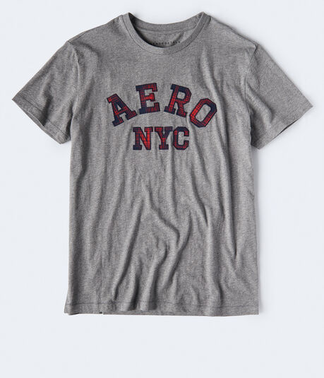 Plaid Aero NYC Graphic Tee