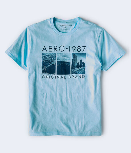 Aero 1987 Original Brand Graphic Tee