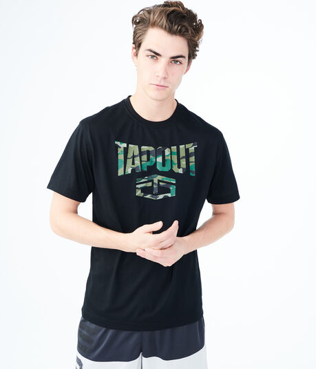 Tapout Camo Graphic Tee