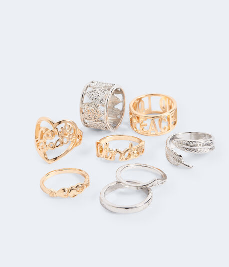 Verbiage Ring 8-Pack