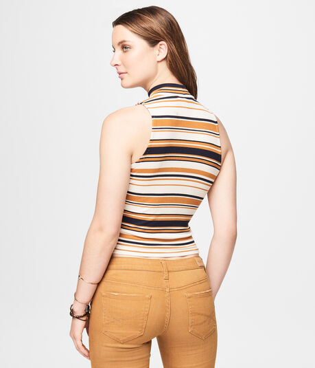 Solid Ribbed Racerback Tank