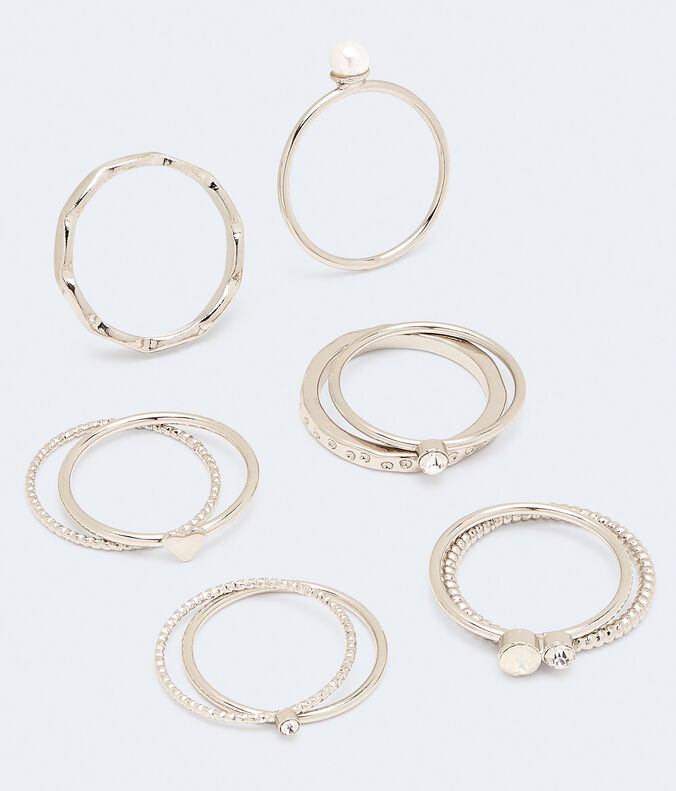 Sparkle & Texture Ring 10-Pack