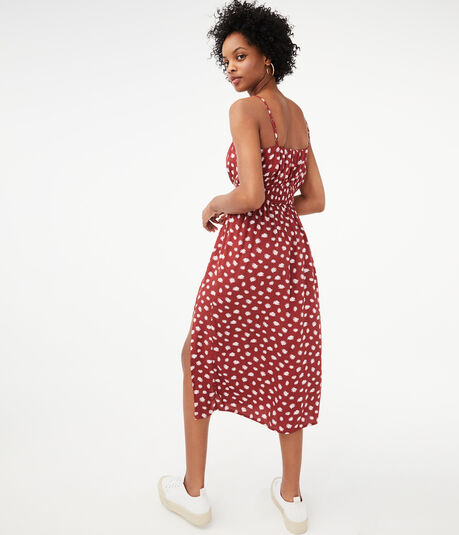 Daisy V-Neck Midi Dress