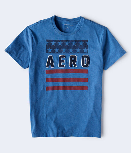 American Flag Aero Graphic Tee