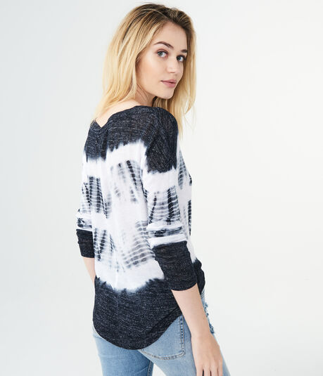 Lightweight Tie-Dye Sweater