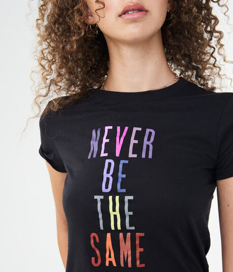 Never Be The Same Graphic Tee***