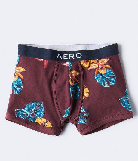 Hibiscus Knit Trunks