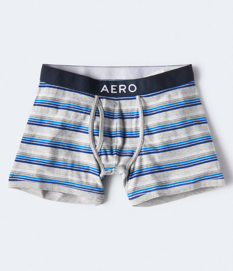 Multi-Stripe Knit Boxer Briefs