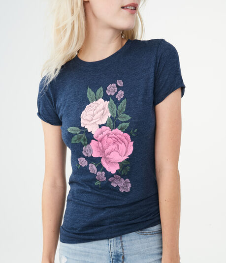 Free State Floral Sketch Graphic Tee