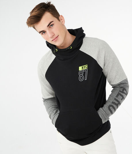 Colorblocked NYC 87 Active Pullover Hoodie