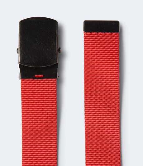 Solid Canvas Belt