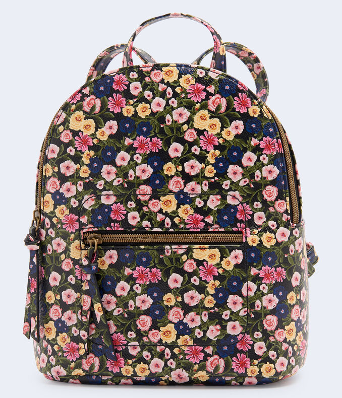 Floral Mini Backpack