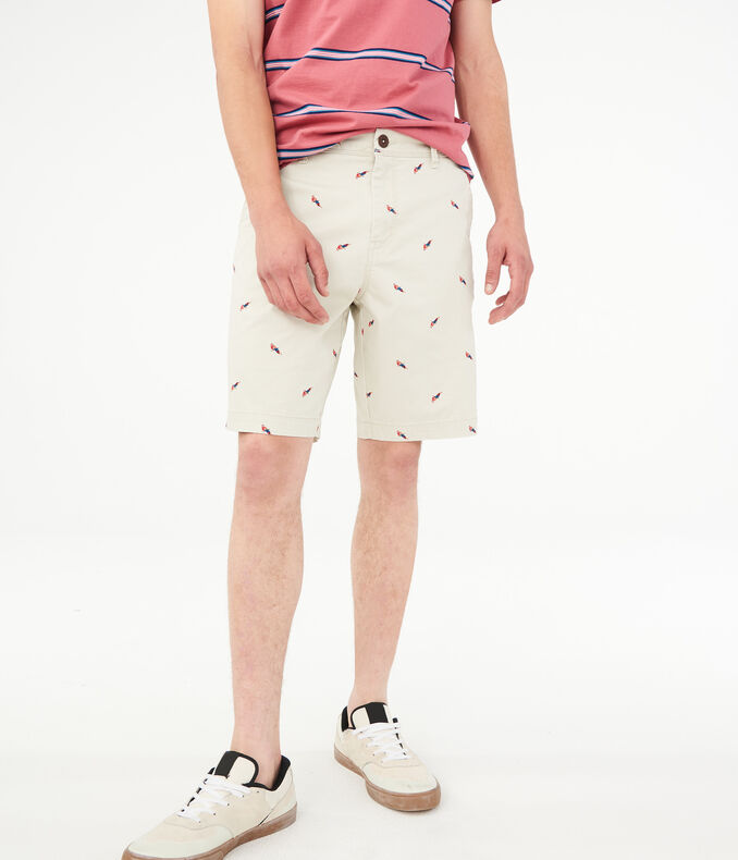 "Parrot 9.5"" Stretch Shorts"