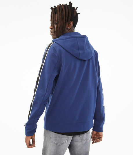 A87 Tape Tech Fleece Full-Zip Hoodie***