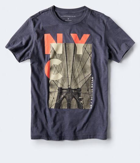 NYC Bridge Graphic Tee