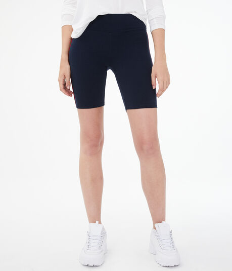 Side Stripe Lounge Bike Shorts***