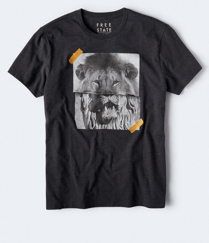 Free State Lion Photo Graphic Tee