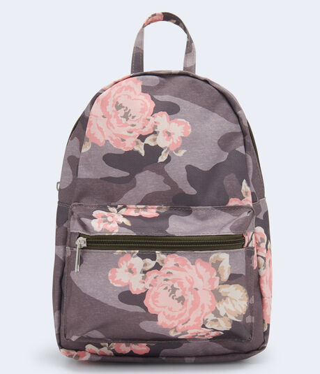 Floral & Camo Mini Backpack