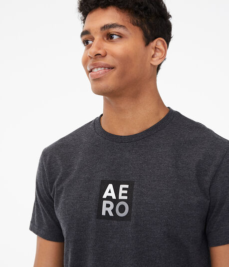 Square Stacked Aero Logo Graphic Tee