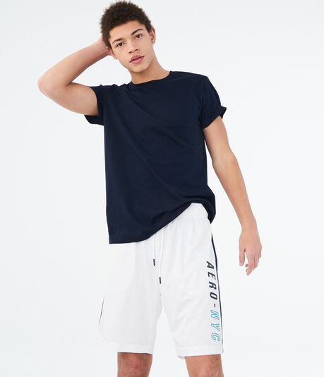 "Aero-NYC 9.5"" Mesh Athletic Shorts"