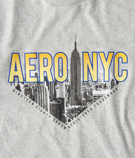 Aero NYC Skyline Graphic Tee