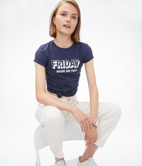 Friday Where Are You Graphic Tee