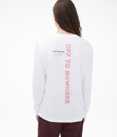Long Sleeve Off To Nowhere Graphic Tee