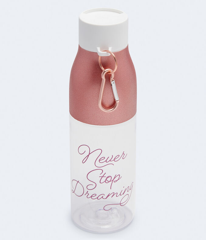 Never Stop Dreaming Water Bottle***