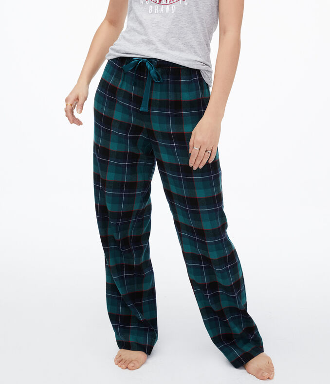 Plaid Flannel Sleep Pants